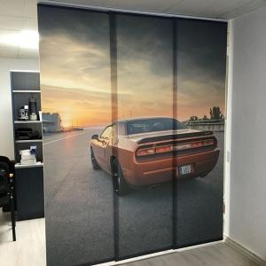 Print panelló függöny, lapfüggöny